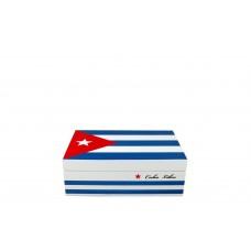 Humidor Bandera de Cuba /50 cig.